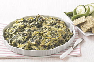 Cheesy Spinach and Artichoke Dip Recipe