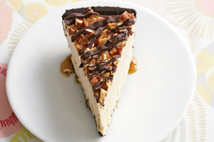 Frozen Peanut Butter Turtle Pie Recipe