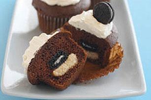 Mini OREO Surprise Cupcakes Recipe