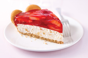 Tropical Strawberry Cream Pie Recipe